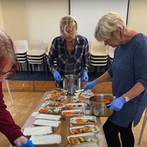 All Saints Church in Newtown preparing Sunday Lunch for distributing to those in need.jpg
