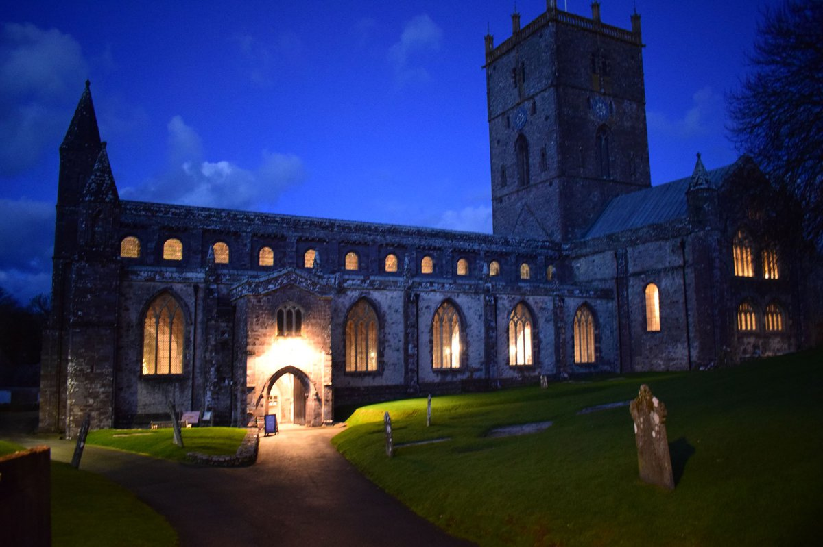 Cathedral light-up - St Davids Cathedral crop.JPG