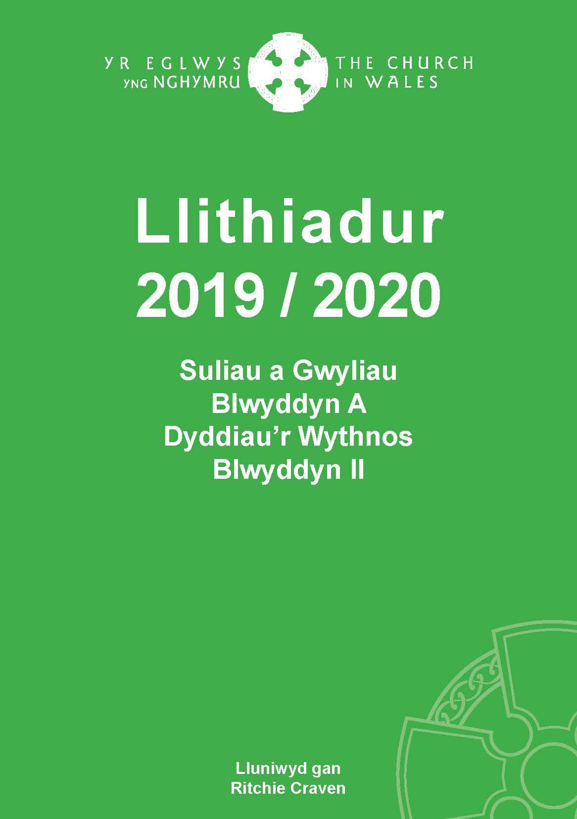 Llithiadur - Blwyddyn A - Dyddiau'r Wythnos II - 2019-2020