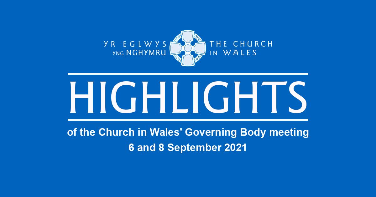 Governing Body September 2021 Highlights Banner