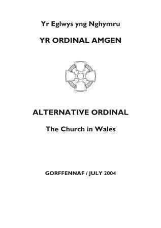 Yr Ordinal Amgen - Alternative Ordinal 2004