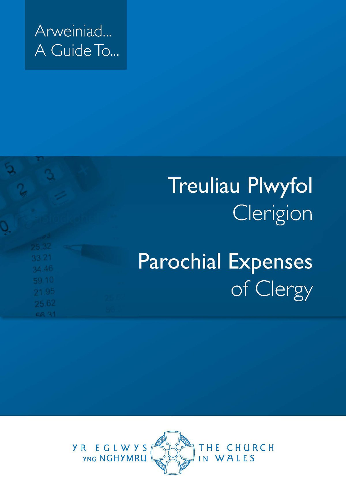 Treuliau Plwyfol Clerigion - Parochial Expenses of Clergy