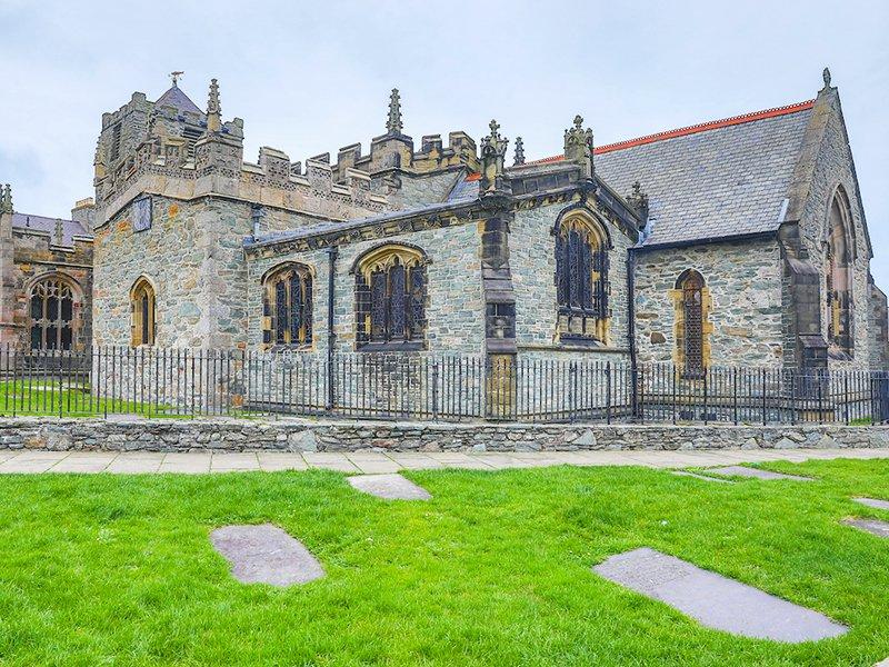 St Cybi Holyhead by Dave Custance