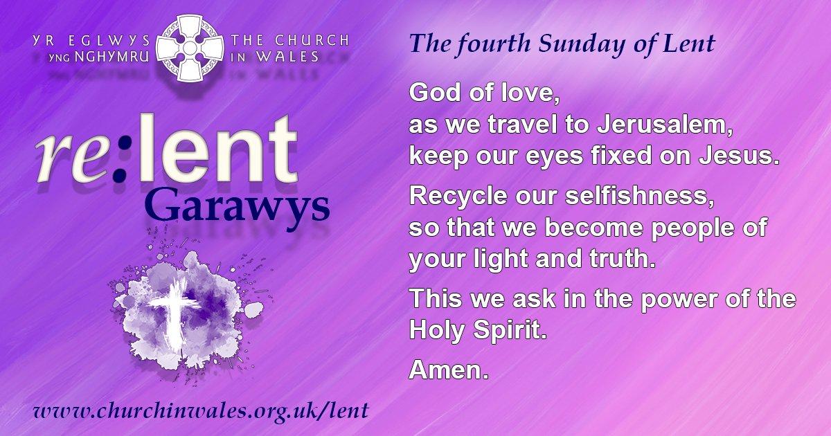 Lent 4 Prayer